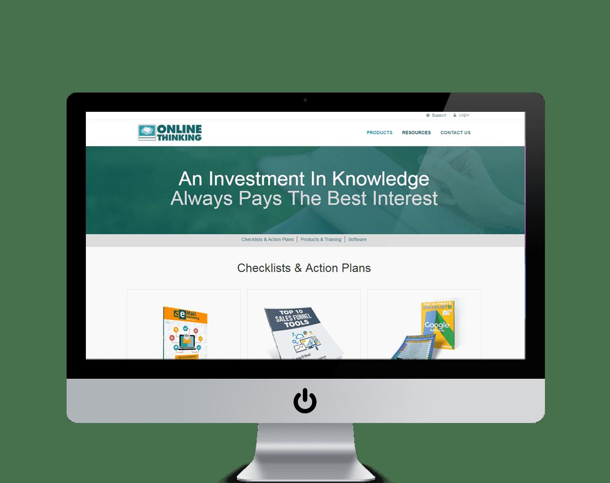 Online Thinking Website