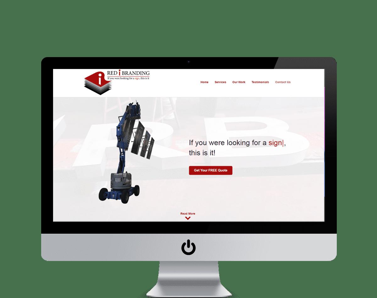 Red i Branding Website